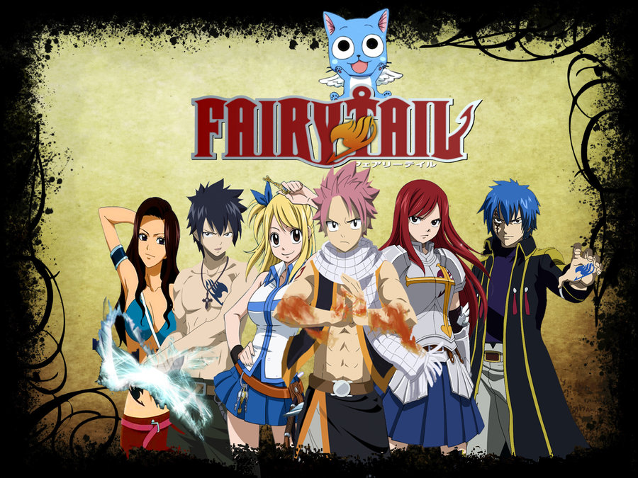Fairy Tail Characters Wallpapers 001