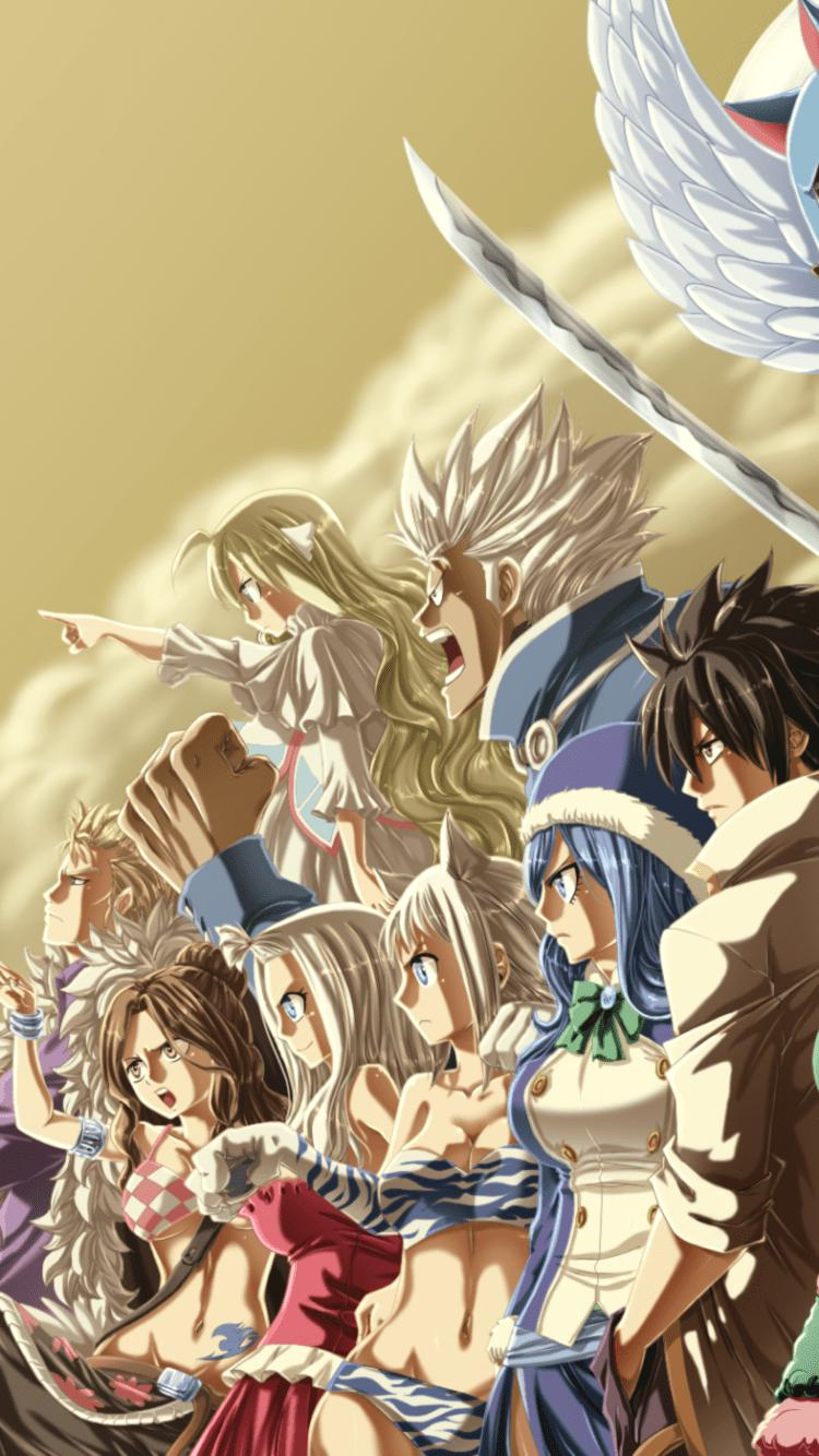 Fairy Tail Iphone Wallpaper Fairy Tail Fairy Tail Fairy Tail