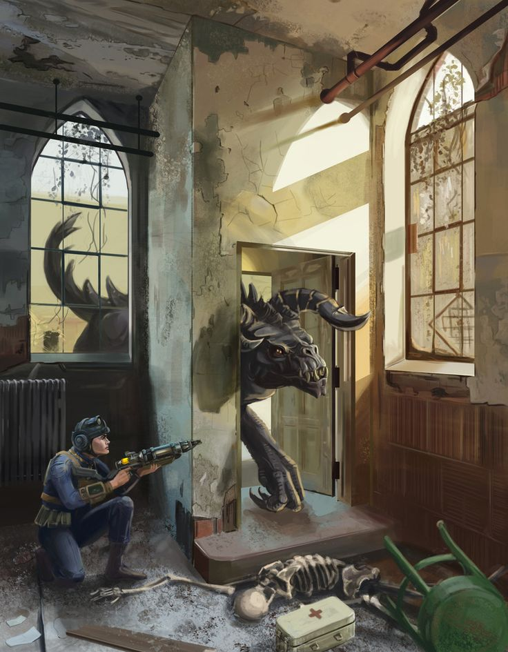 Check Out a Lot of Fallout Concept Art