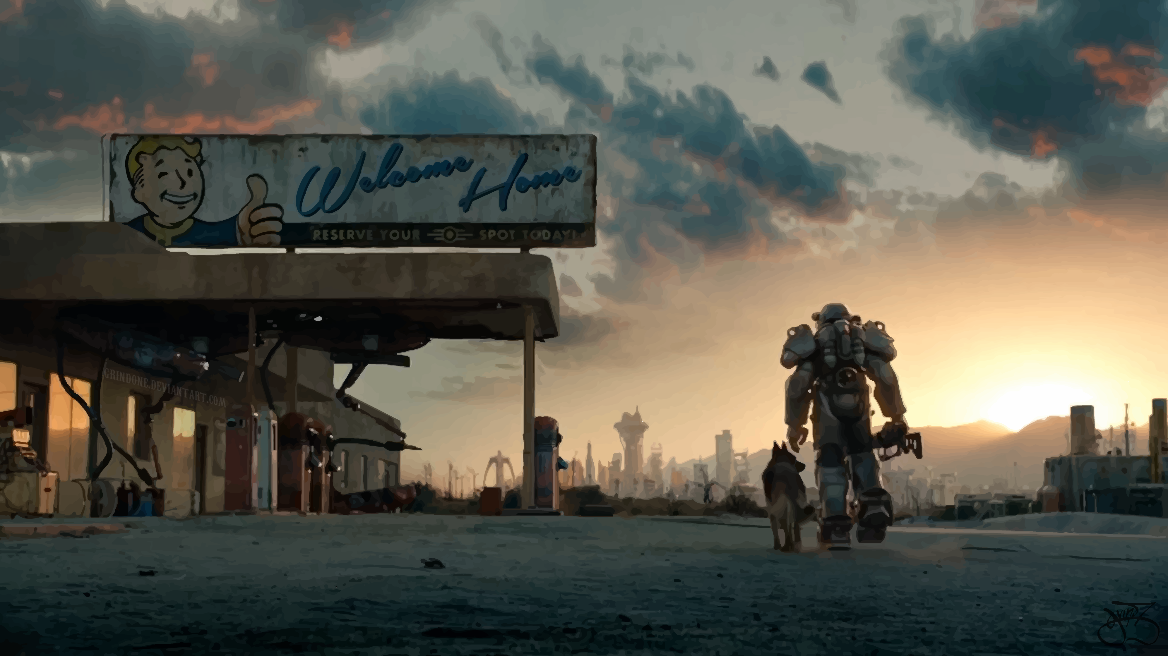 Fallout s concept art is wallpaper worthy