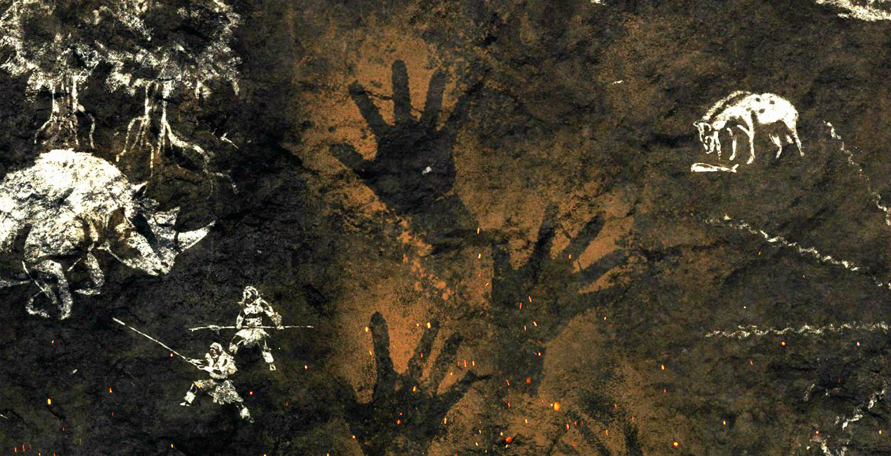 Far Cry Primal Wall Paintings