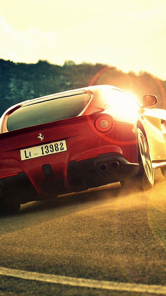 Ferrari Hd Widescreen Wallpaper Car Wallpapers Backgrounds With 640x1136