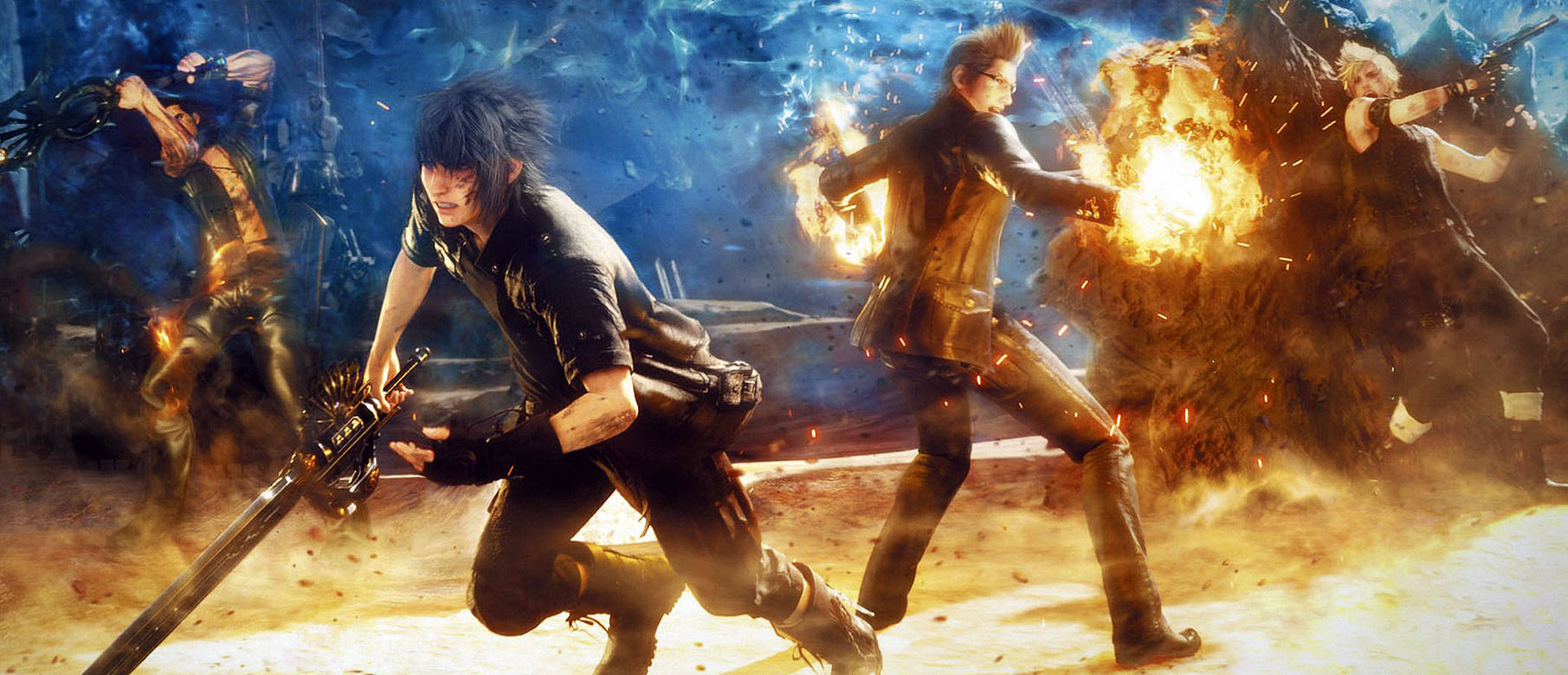 Final Fantasy Xv Wallpapers The Best 79 Images In 2018: Final Fantasy XV Wallpapers (40 Wallpapers)