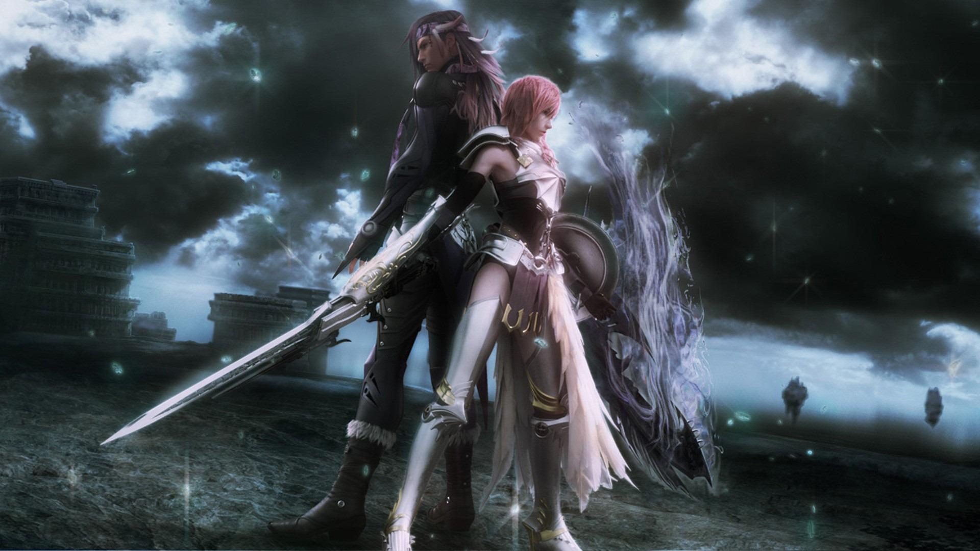 Final Fantasy Xiii Lightning K Hd Desktop Wallpaper For K