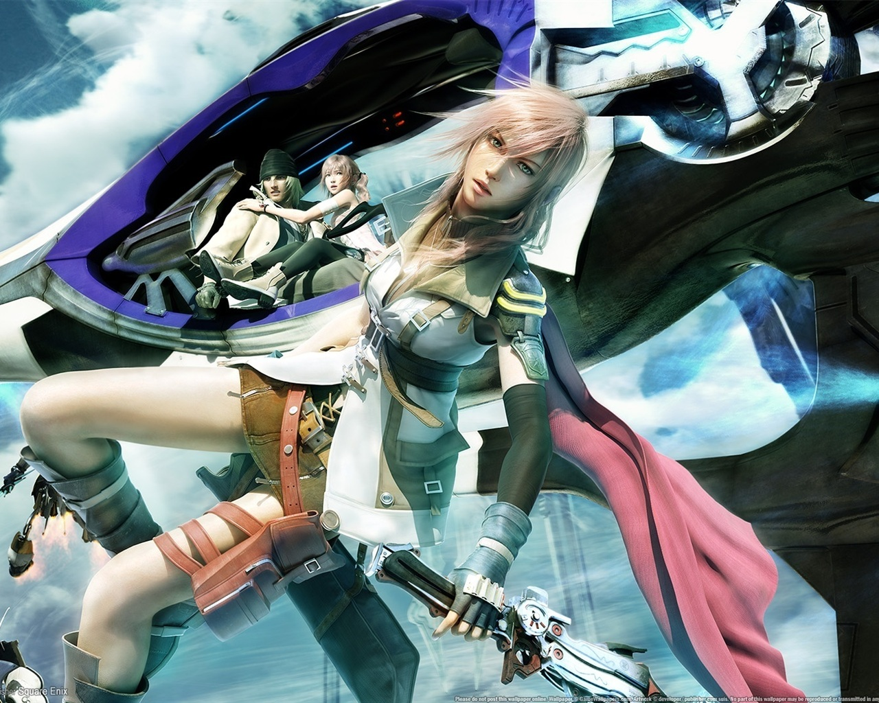 Lightning Returns Final Fantasy Xiii Wallpapers Wallpaper