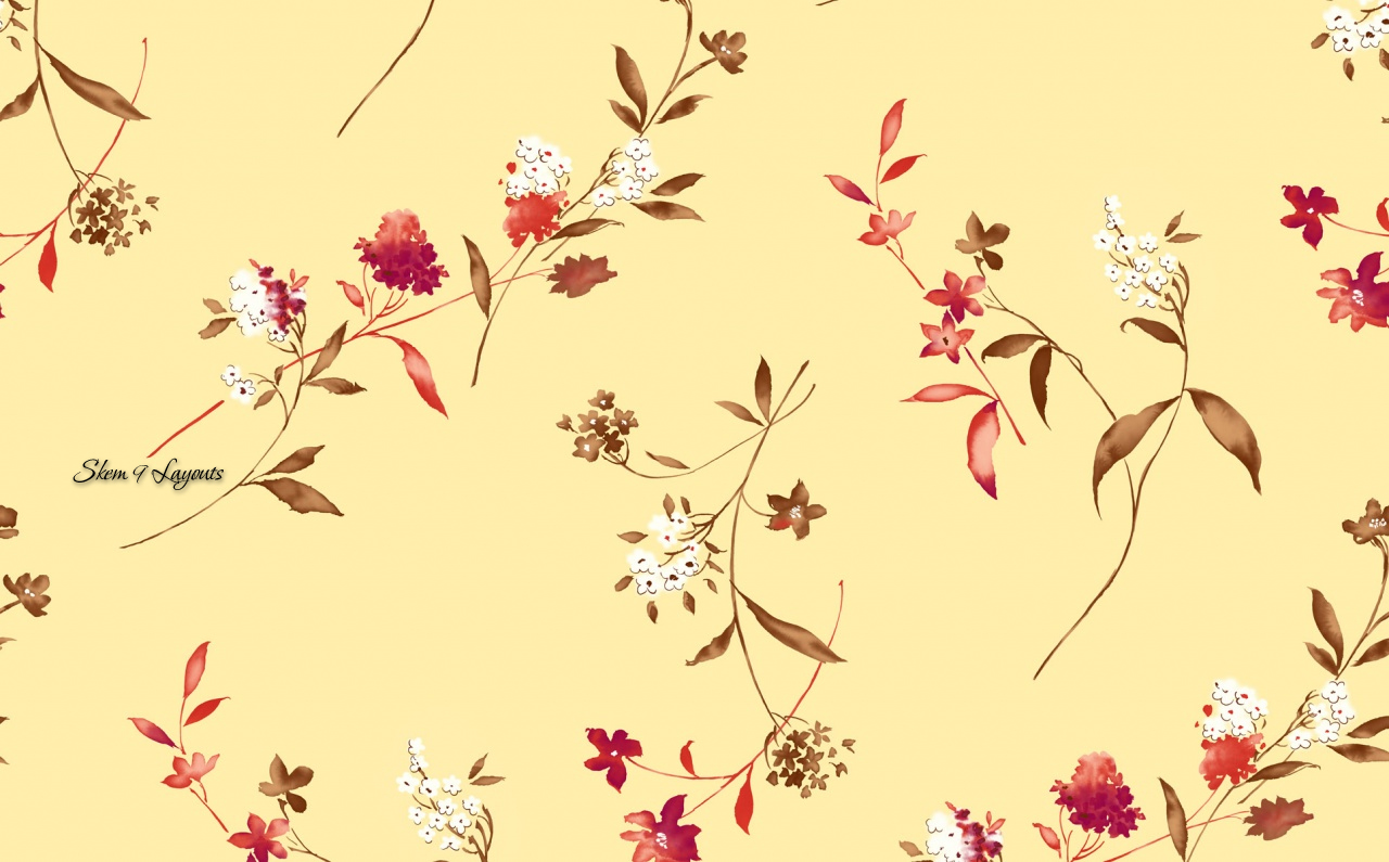 Floral print wallpapers 17 wallpapers adorable wallpapers for Print wallpaper designs
