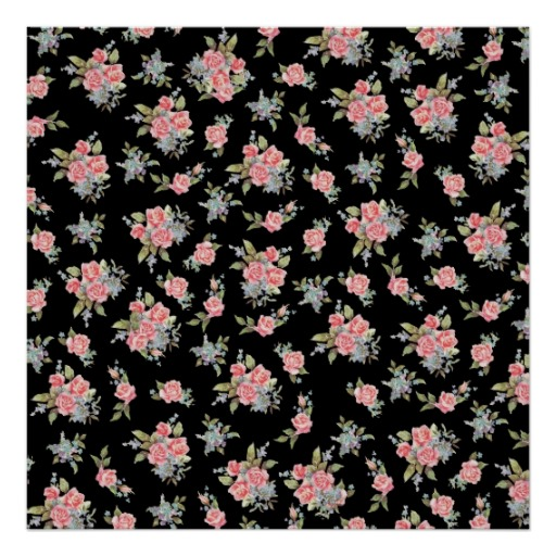 Group of black and pink floral wallpaper print victorian garden floral wallpaper background pretty paper mightylinksfo