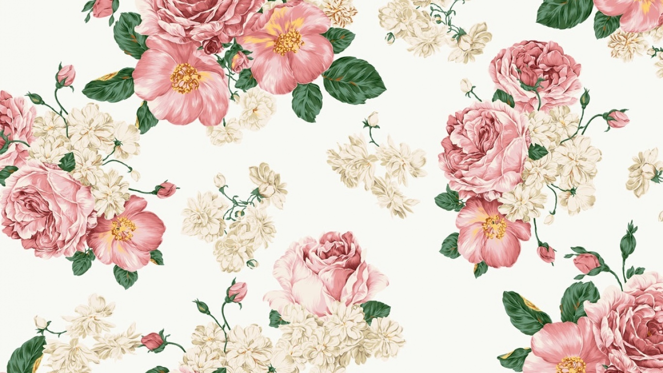 Cute Floral Backgrounds Tumblr Vintage Flower Wallpaper Tumblr