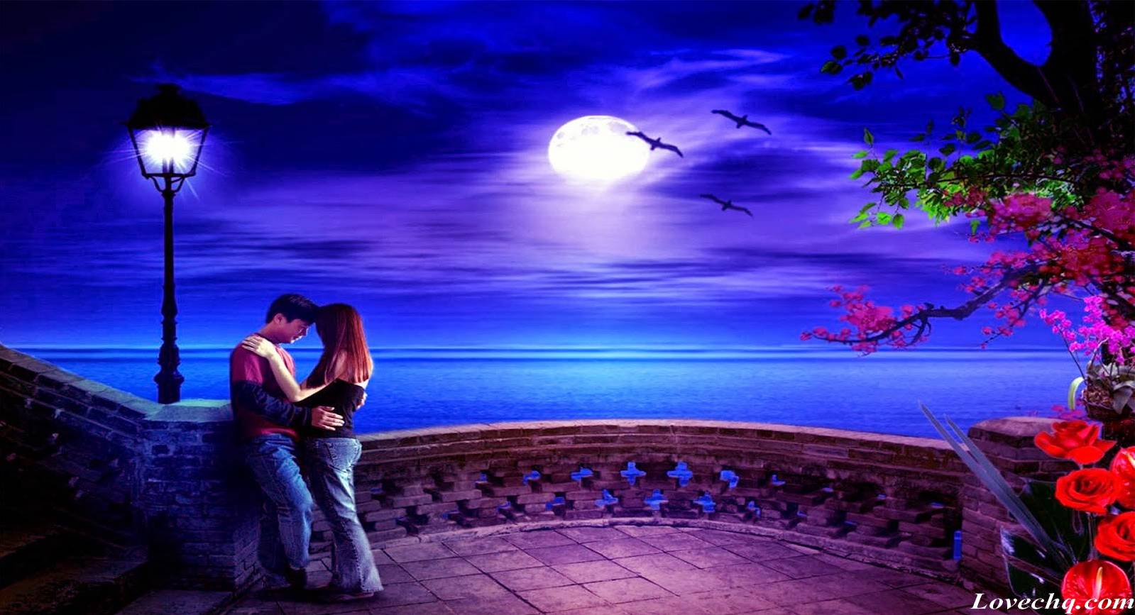 Free download romantic good night picture