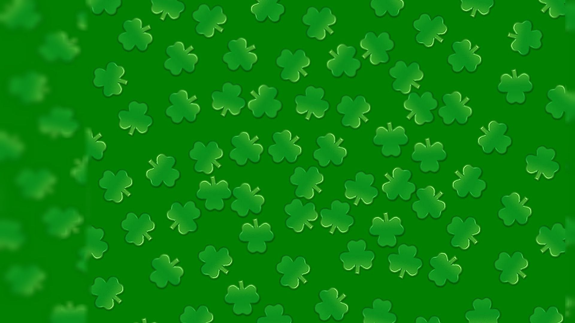 Backgrounds St Patricks Day Desktop  PixelsTalk Shamrock Background Wallpaper   1920x1080