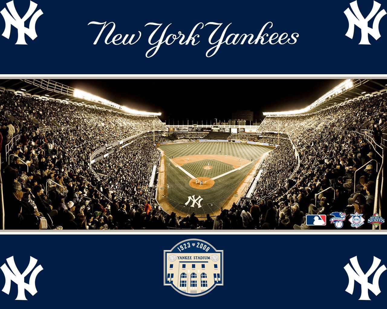 New York Yankees Wallpapers  New York Yankees Background  Page  1280x1024
