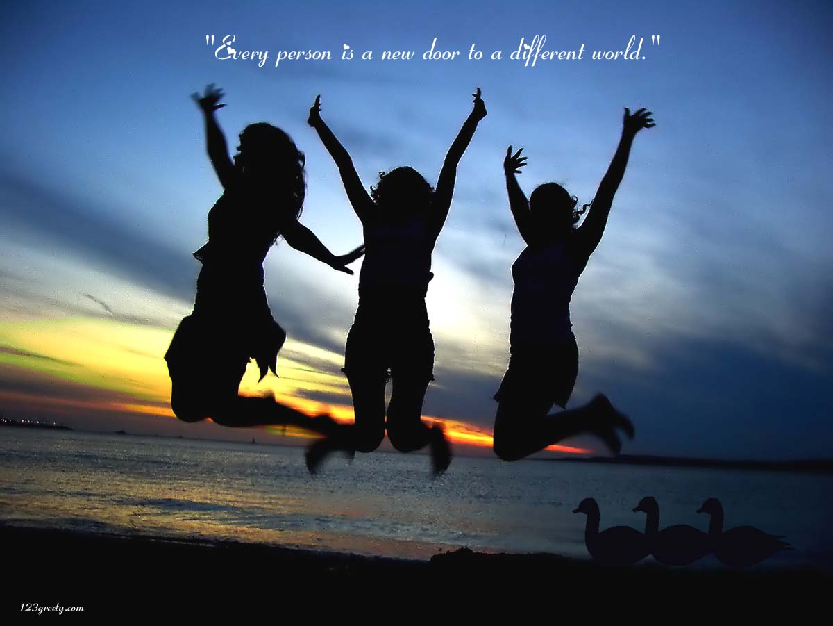 Cute Friendship Quotes With Images Wallpapers 1200x901