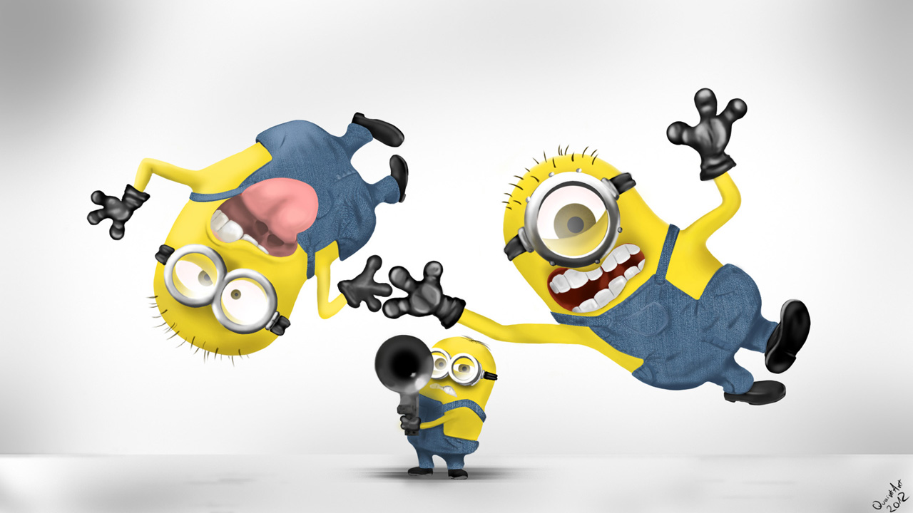 Fun Cartoon Wallpaper 1280x720
