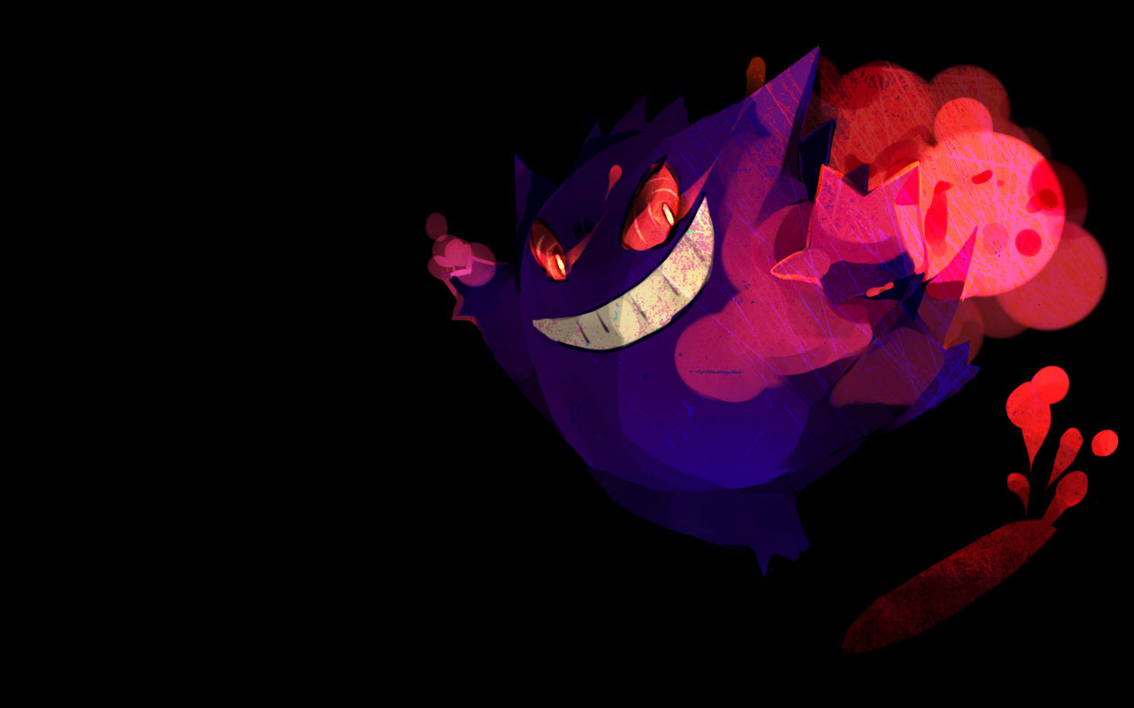 Gengar Wallpaper Pictures, Images  Photos  Photobucket 1280x800