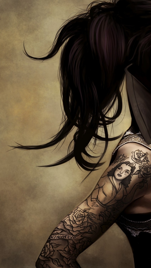 girl tattoo wallpapers 44 wallpapers adorable wallpapers. Black Bedroom Furniture Sets. Home Design Ideas