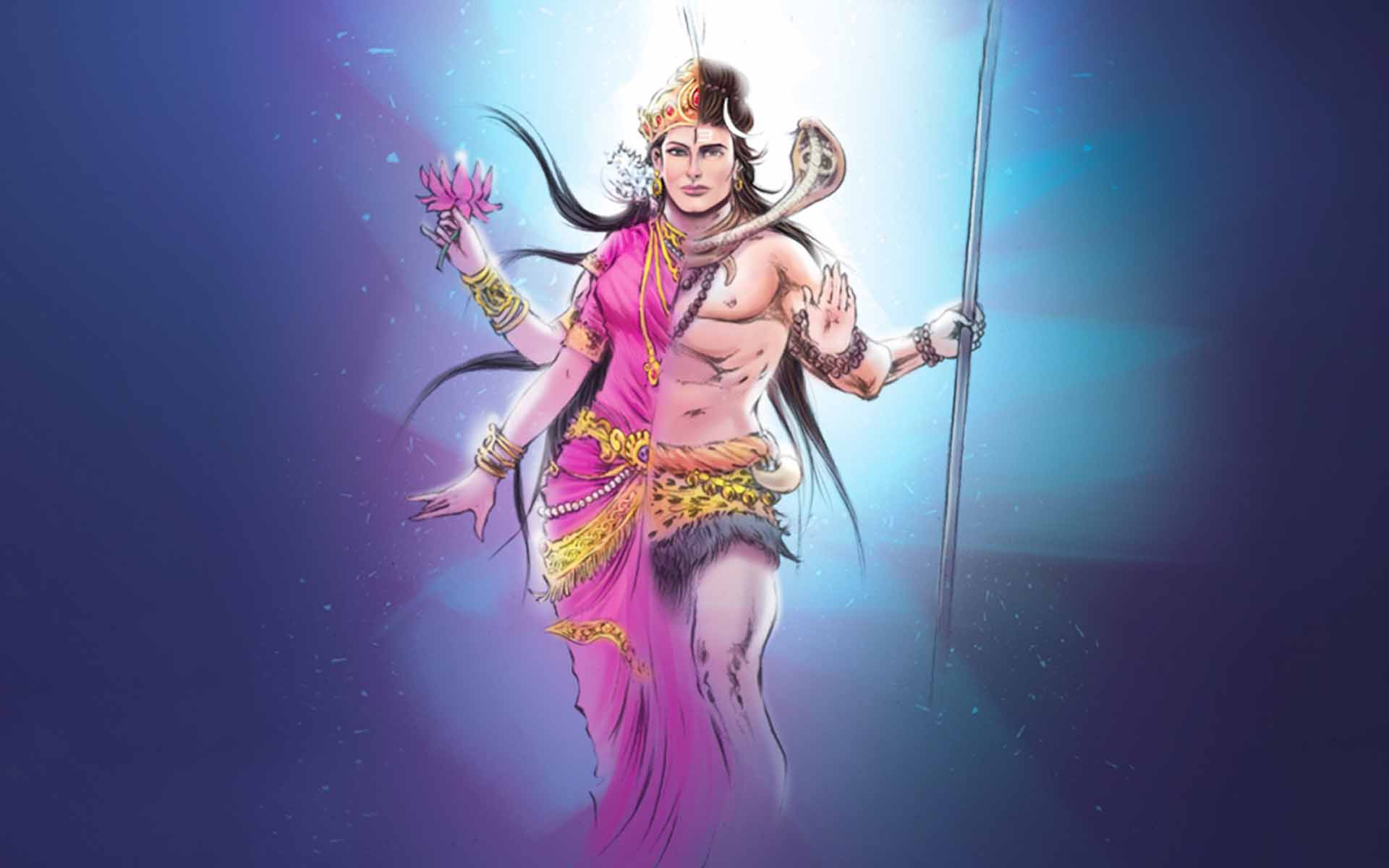 Full hd image of god shivan