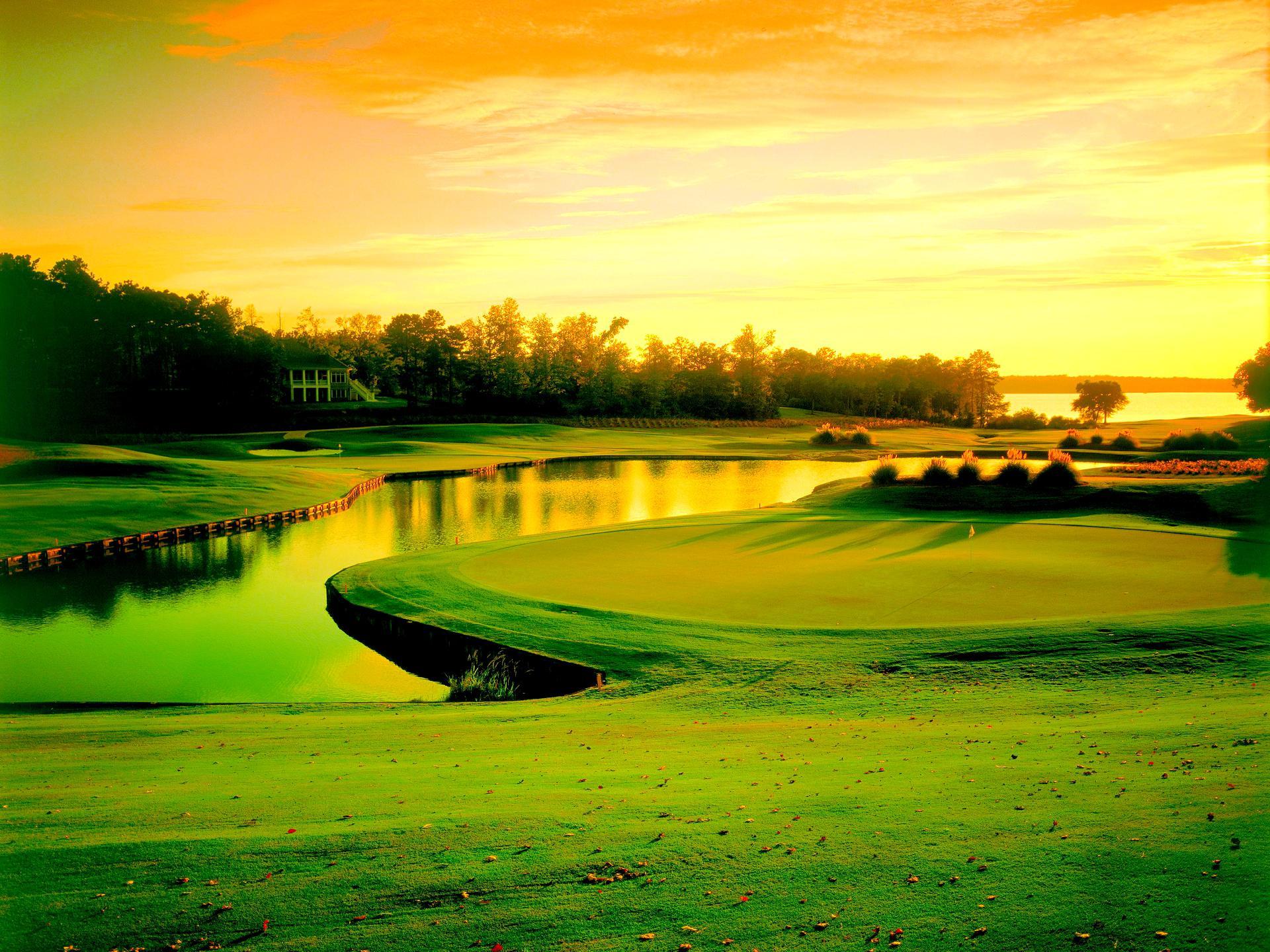 Beautiful Golf Course Hd Desktop Wallpaper High Definition 1920x1440