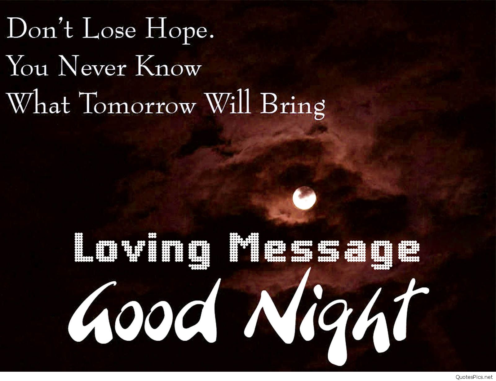 Good Night Wallpaper Pictures 1600x1230