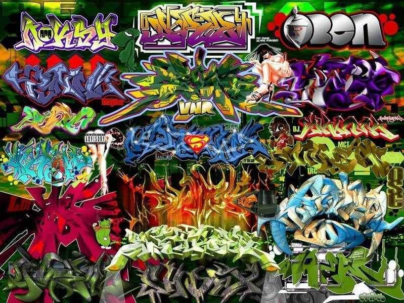 graffiti wallpapers for mobile - photo #10