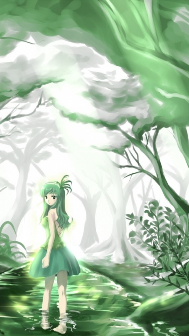 Green Anime Wallpapers (35 Wallpapers) - Adorable Wallpapers