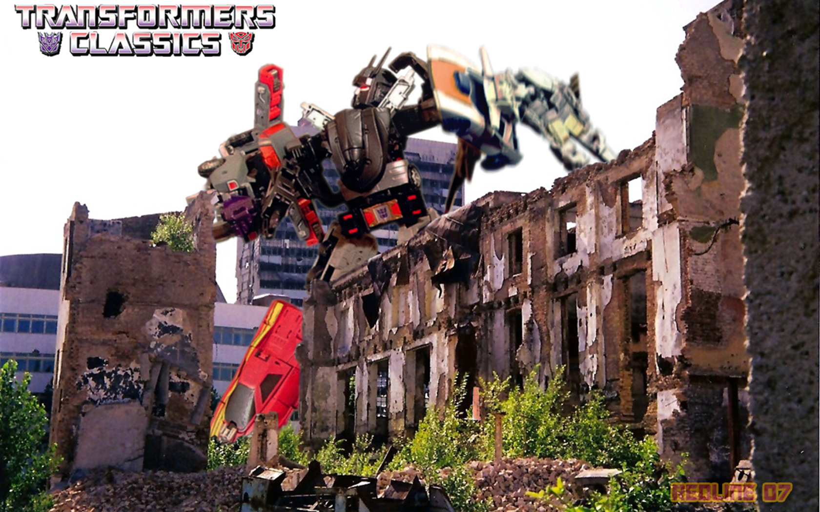 Optimus Prime Riding Grimlock Wallpapers  HD Wallpapers 1680x1050