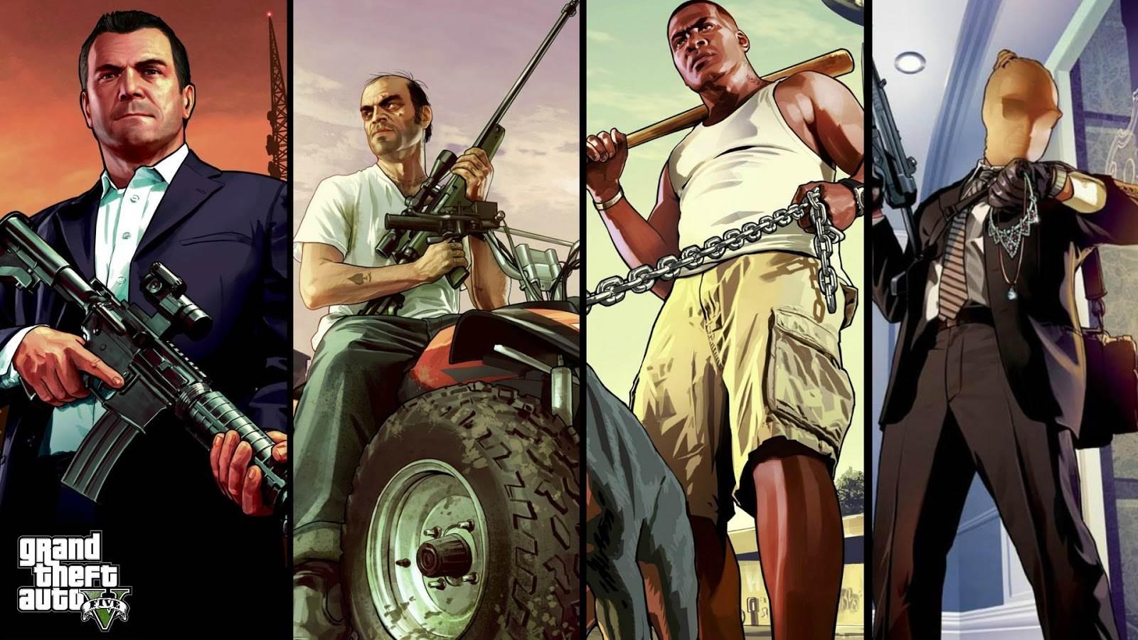 Grand Theft Auto V Wallpapers Wallpaper