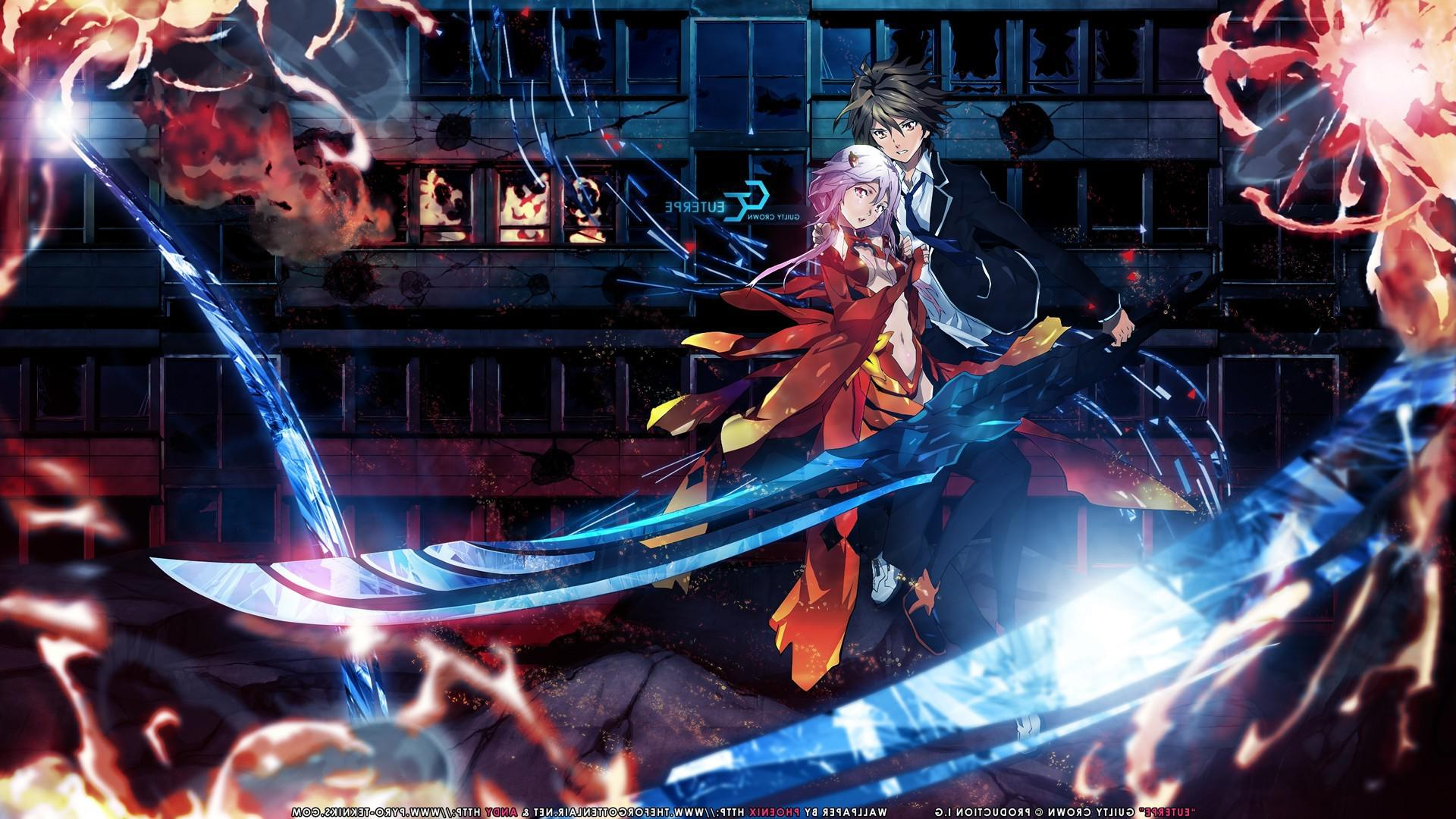 AnimeGuilty Crown x Wallpaper ID  Mobile