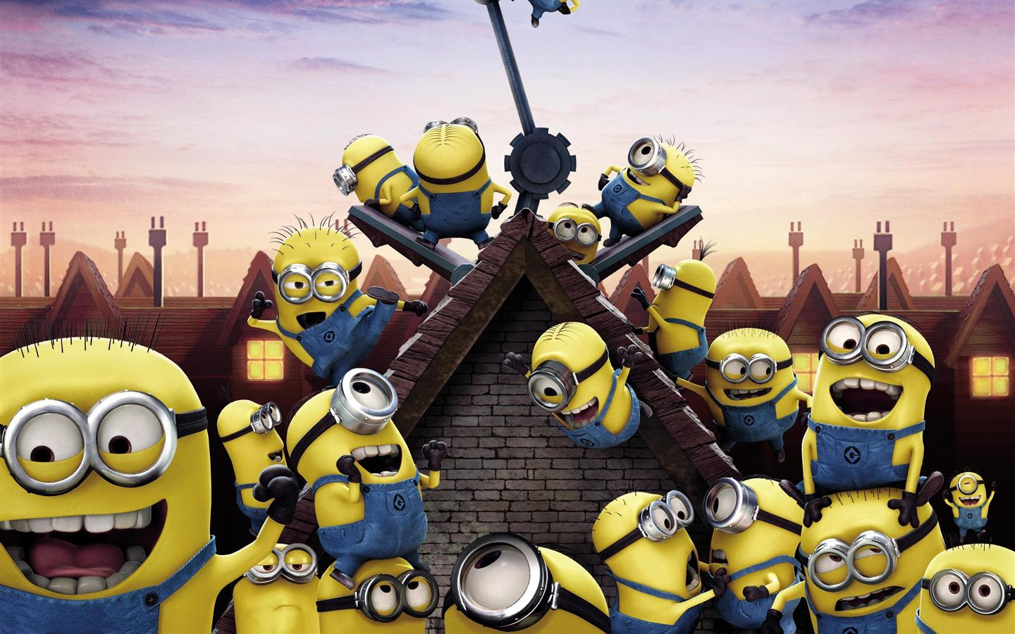 funny minions mobile wallpapers android hd 1440x900