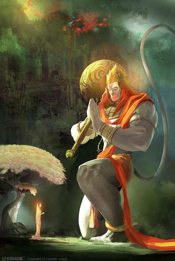 3d Wallpaper God Hanuman Wallpapershit