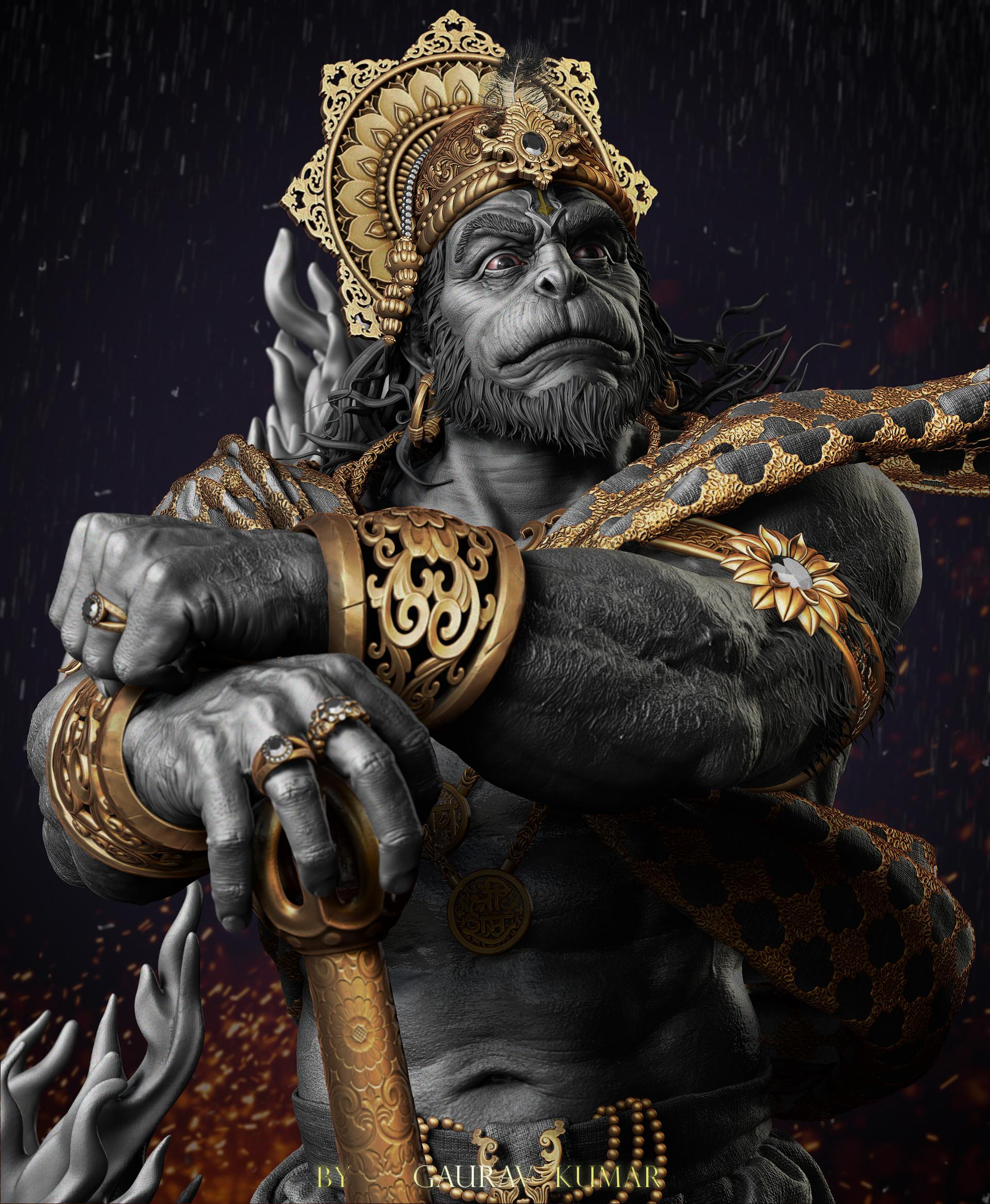 Hanuman HD 3D wallpaper8