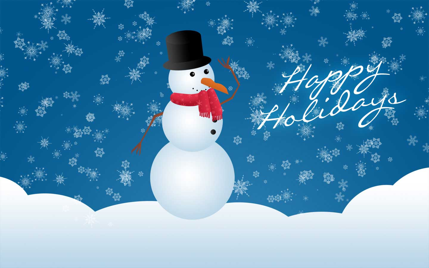 happy holidays backgrounds wallpaper 1440x900
