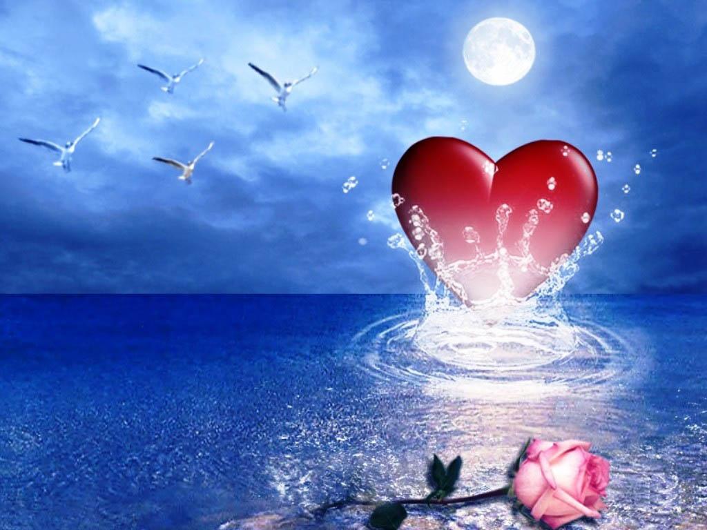 Love Heart Wallpapers Hd Wallpaper 1024x768