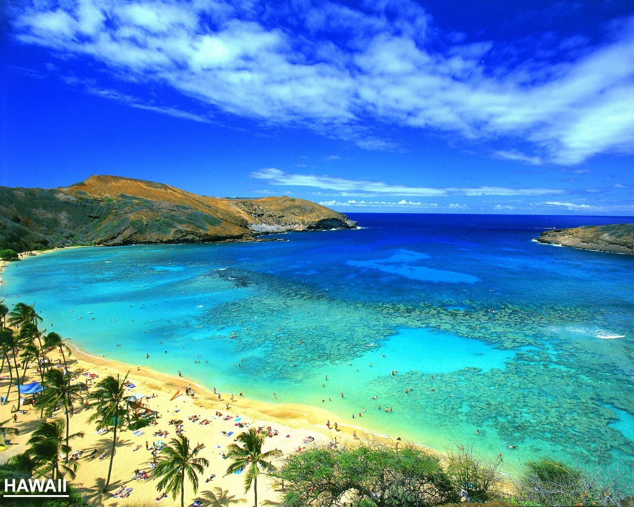 Hawaiian Beach Wallpapers  Wallpaper  1280x1024