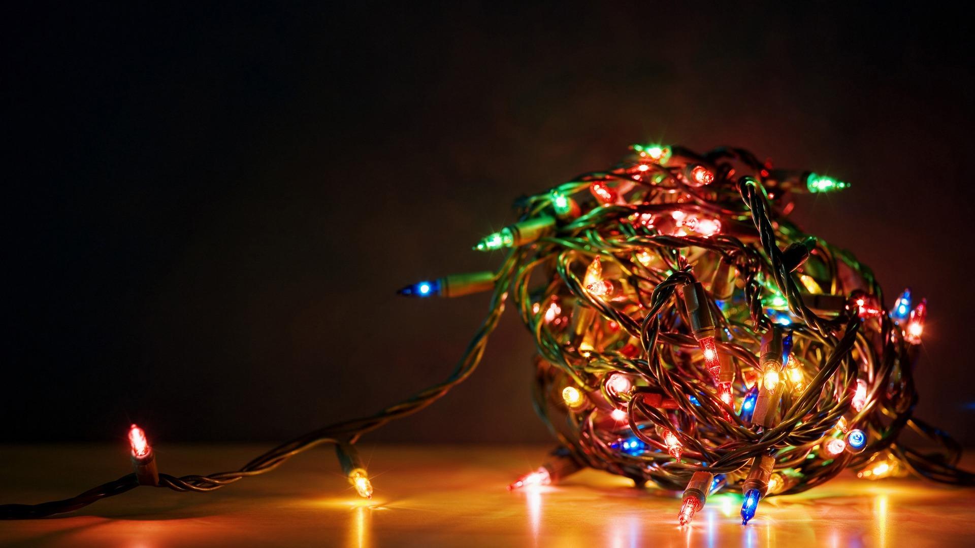 hd wallpapers christmas lights 40 wallpapers - Light Christmas