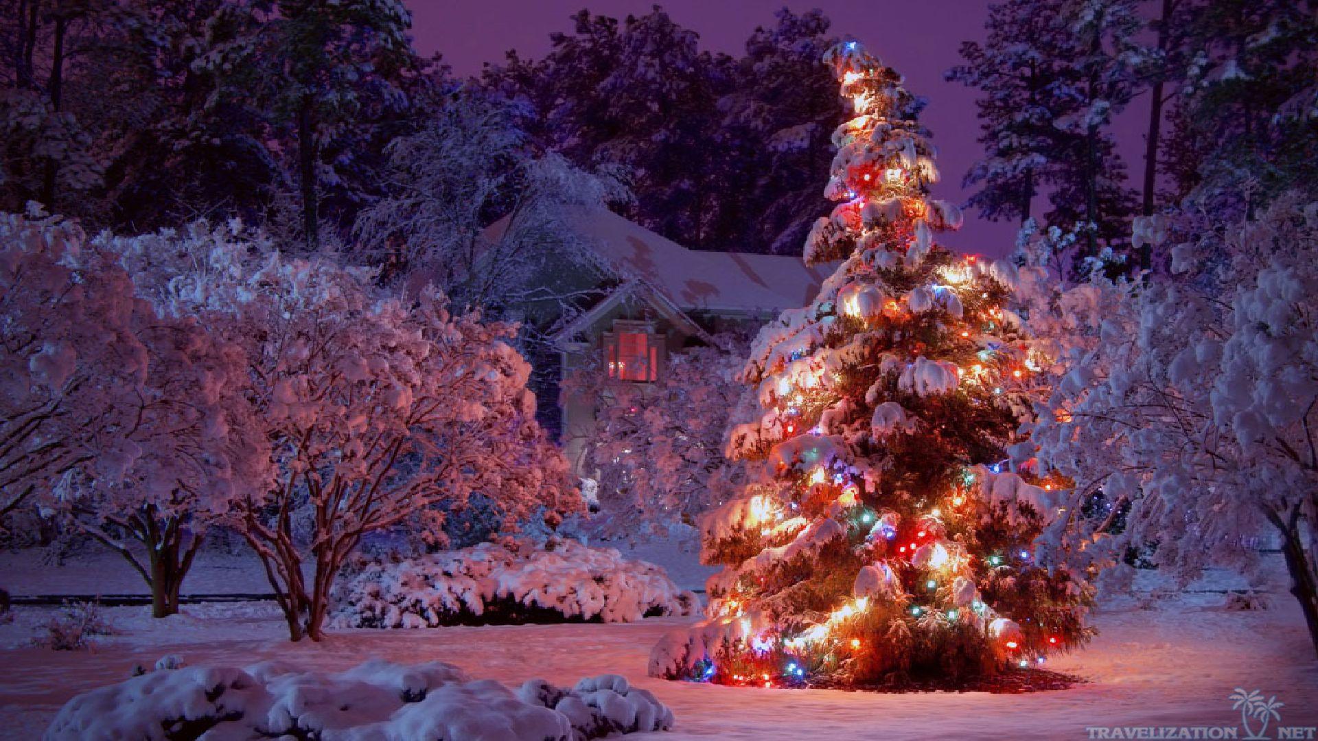 Christmas Lights Desktop Wallpaper Christmas Lights