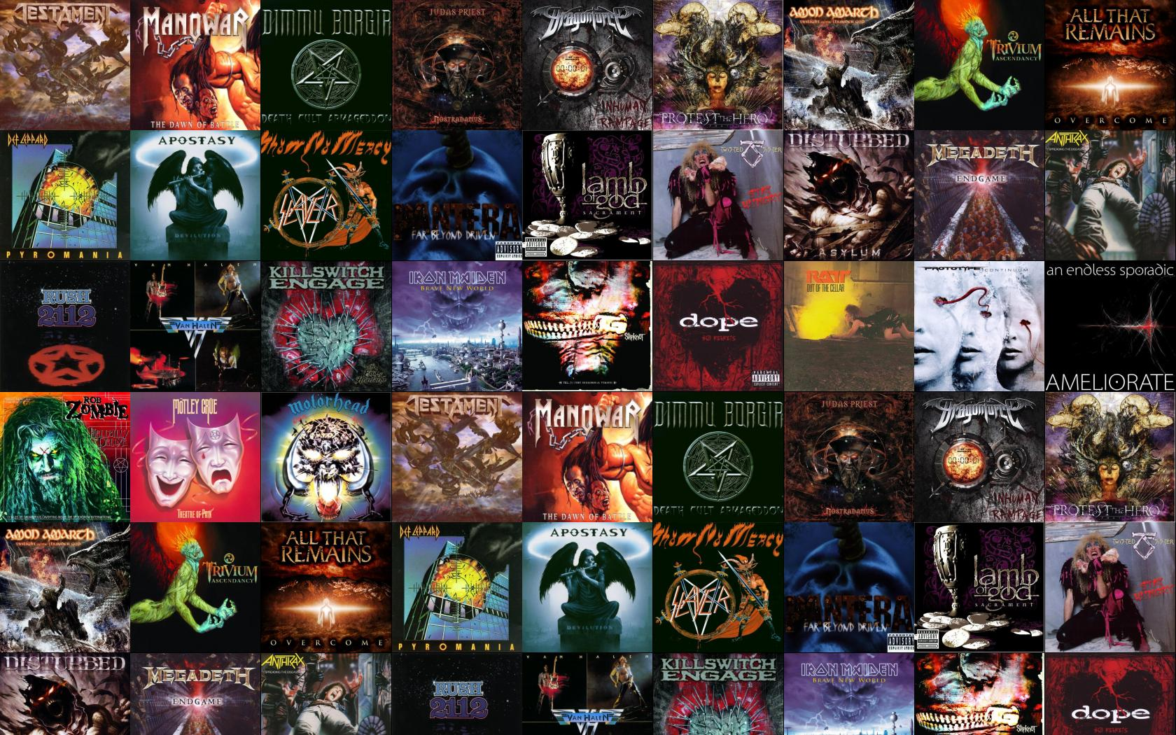 Heavy Metal Bands Wallpapers Group 1680x1050