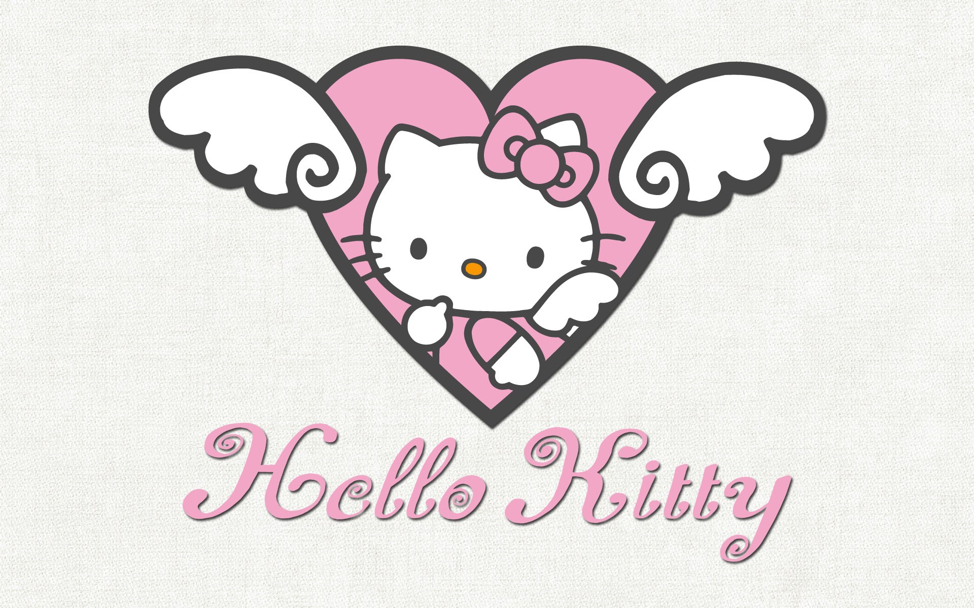 Pink And Black Hello Kitty Backgrounds Wallpaper 1920x1200