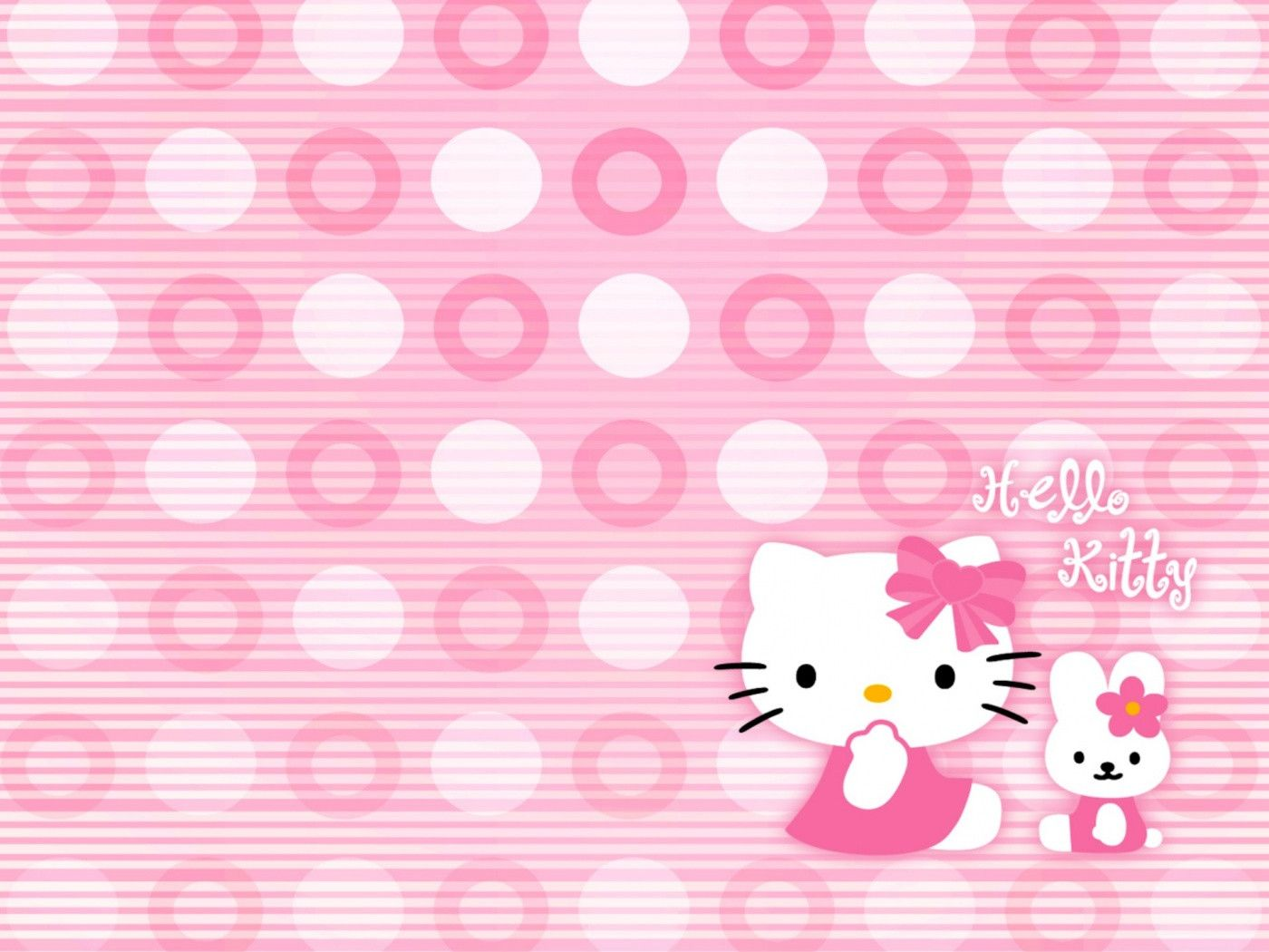 Hello Kitty Hd Wallpapers Wallpaper 1400x1050