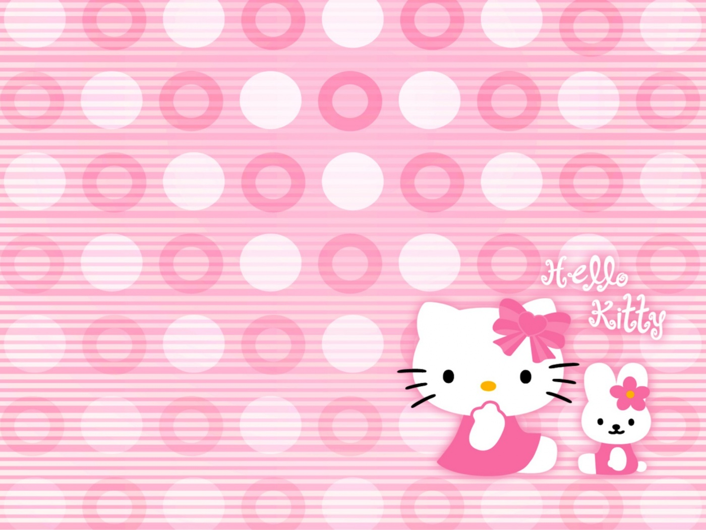 Hello Kitty Wallpapers Wallpaper  1400x1050