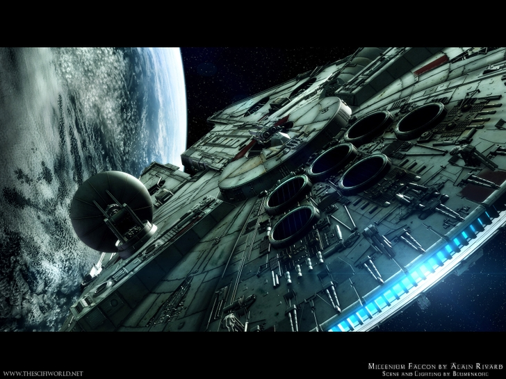 Movie Wallpaper: Star Wars Wallpapers Wide for Wallpaper 728x546