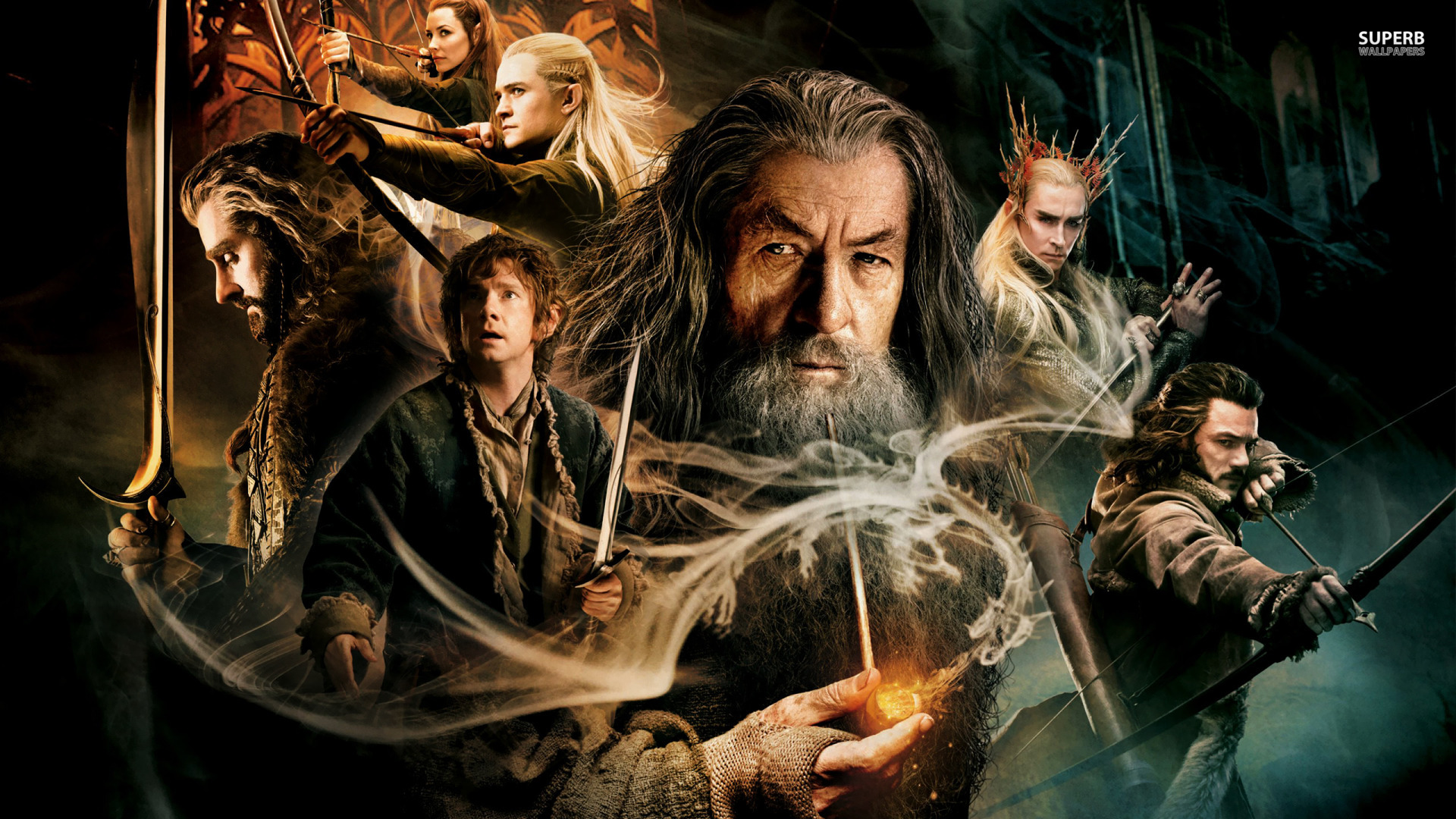 The Hobbit the Desolation of Smaug Wallpapers 1920x1080