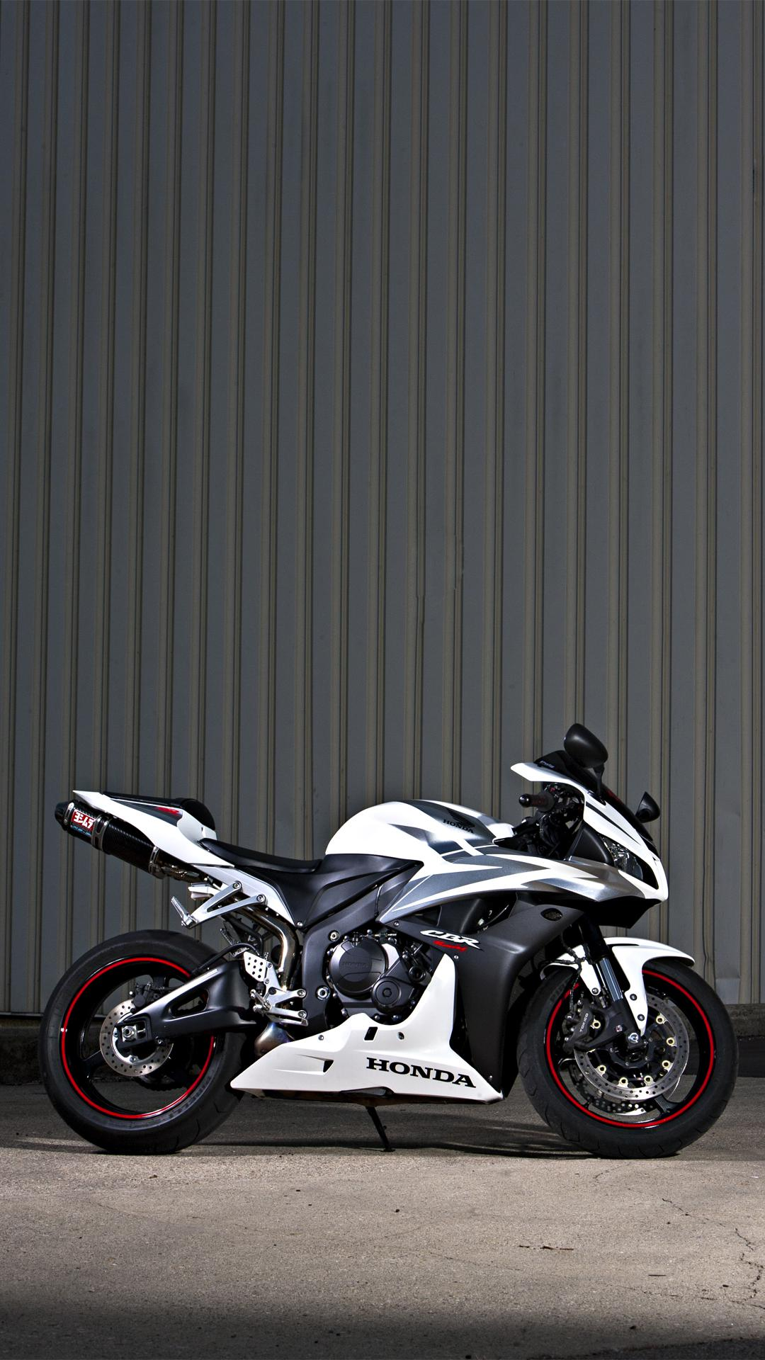 Honda CBR motorcycle x iPhone SCSE
