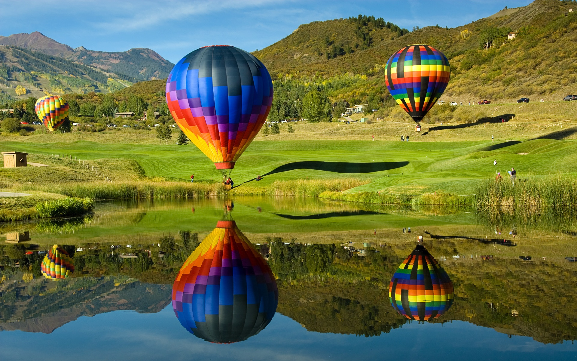 Hd Hot Air Balloon Wallpaper 1920x1200