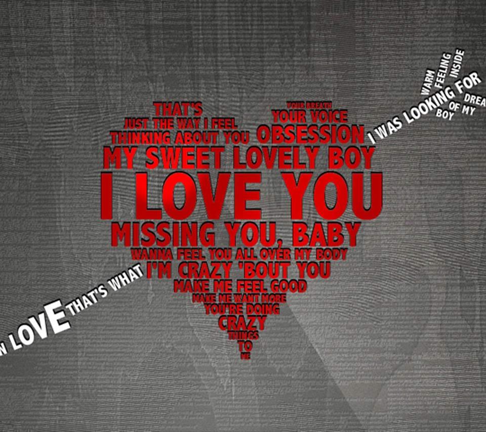 I Love You Written On Paper Hd Desktop Wallpaper Widescreen 960x854