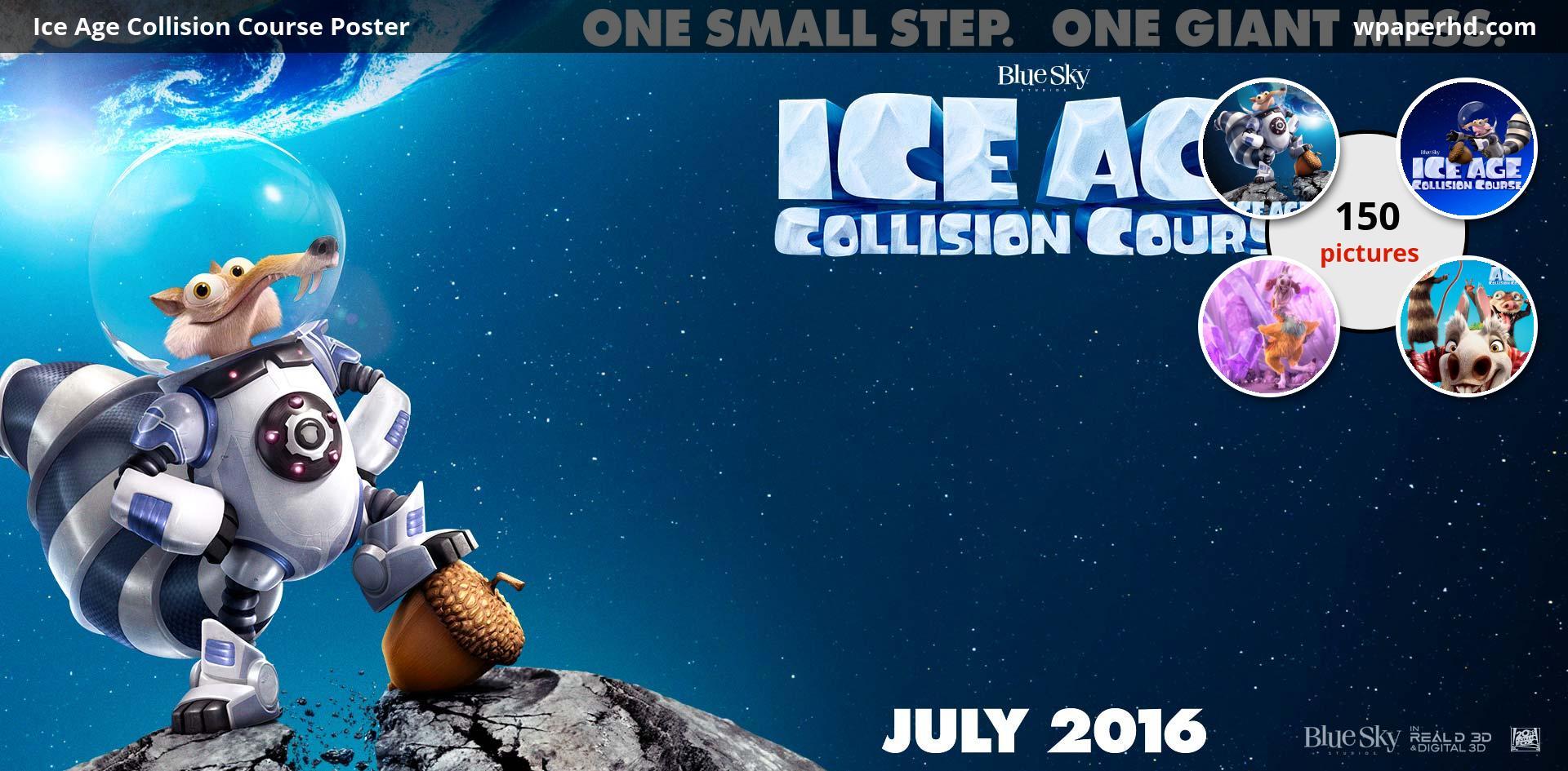 Ice Age Collision Course Desktop Wallpaper Www 1920x945