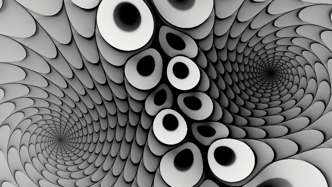 Impressive D Illusion wallpapers 1360x768