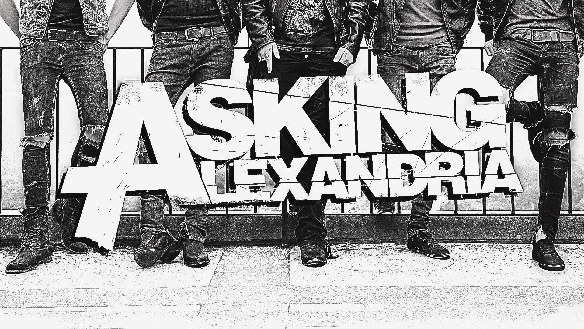Asking Alexandria Lyrics Wallpaper