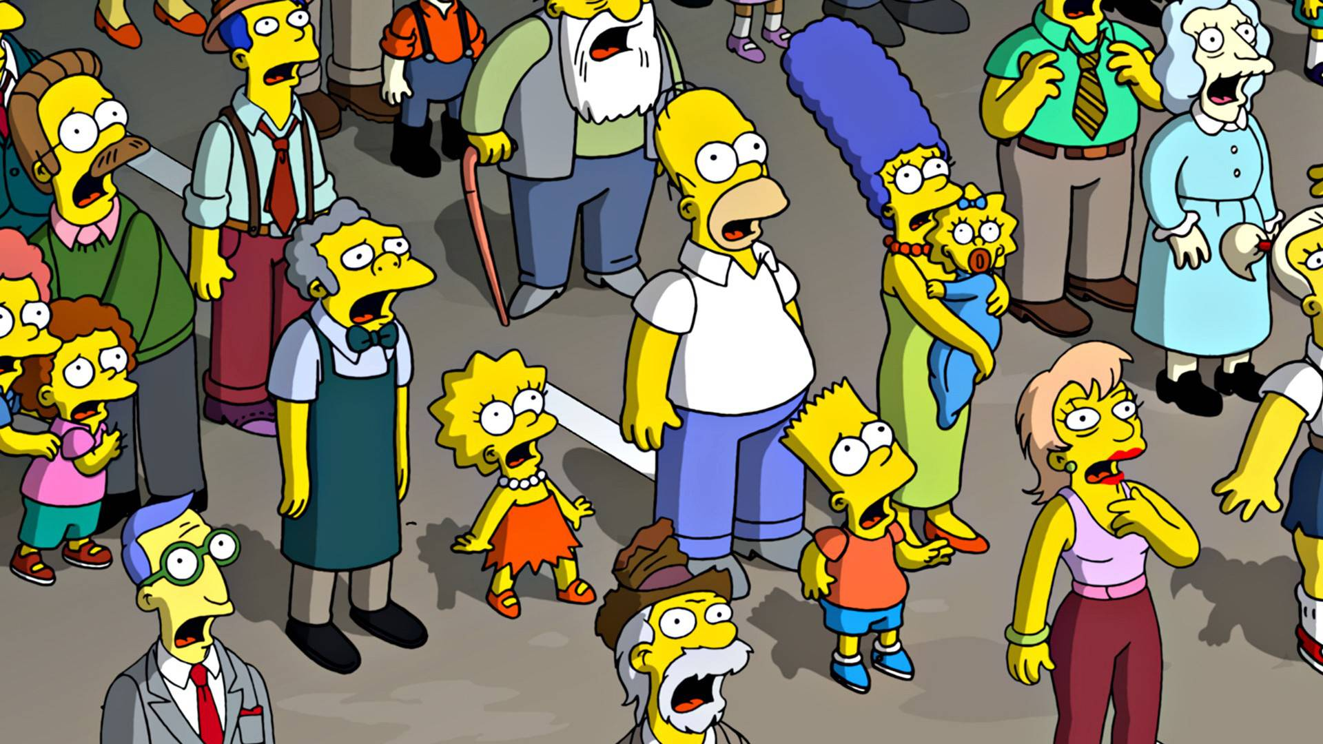 The Simpsons Wallpapers 1920x1080