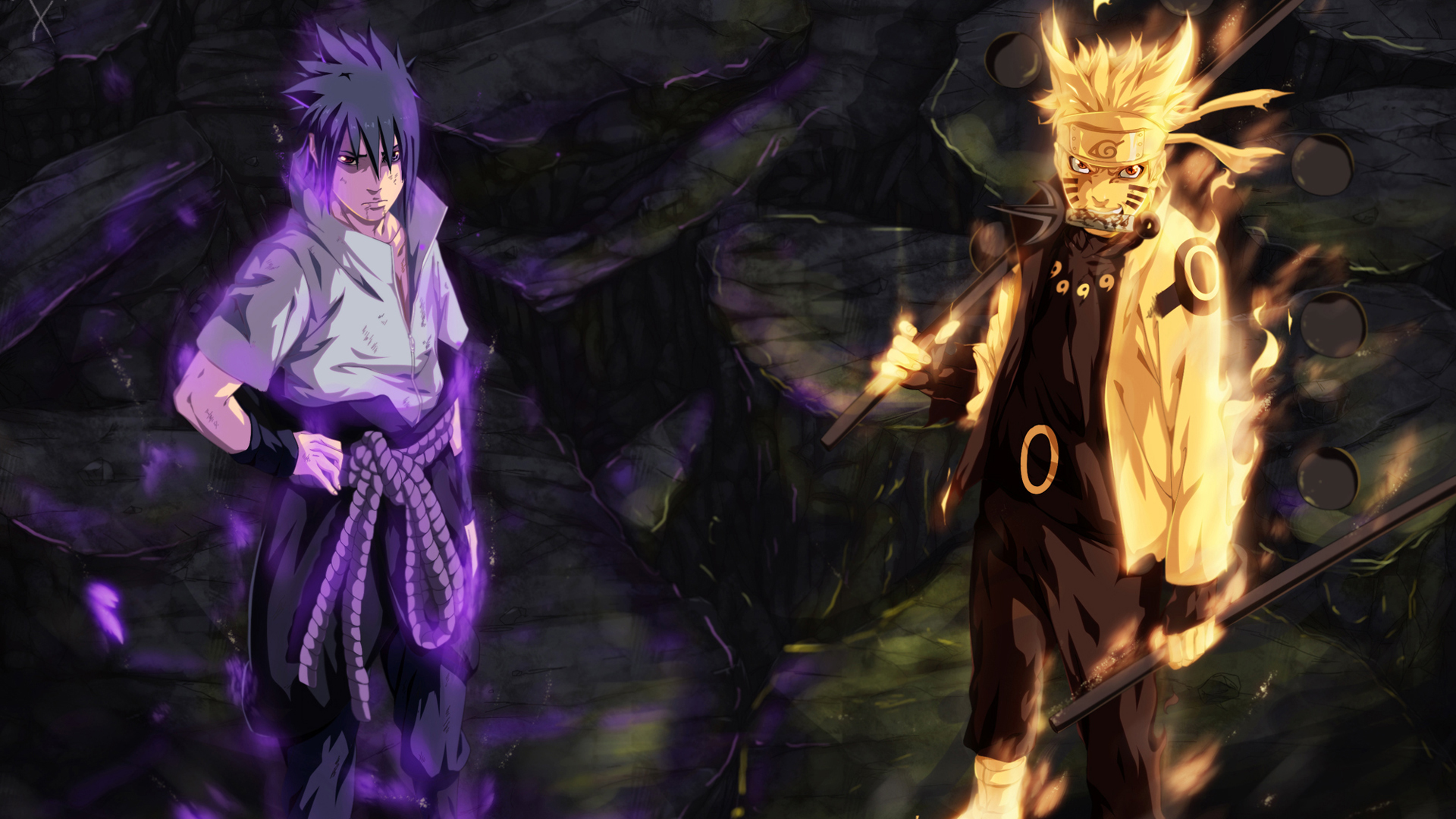 Imagenes De Naruto Y Sasuke Wallpapers 022