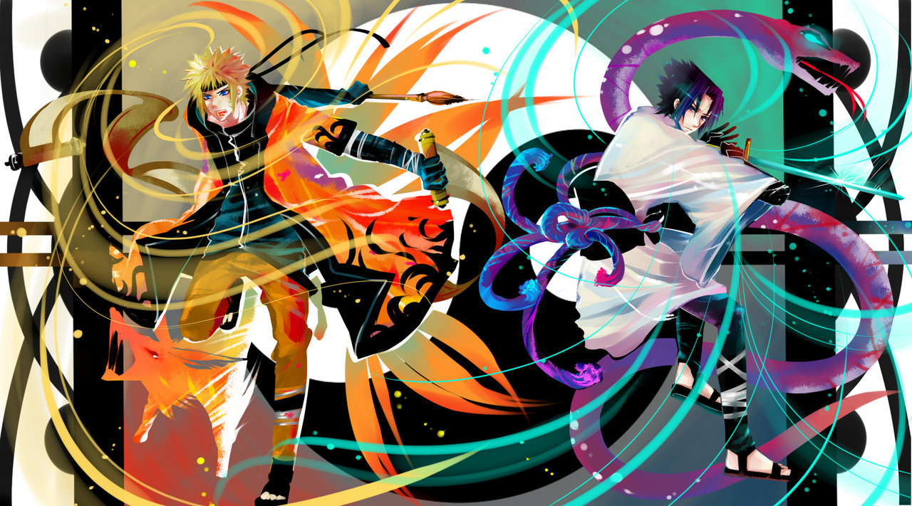 Imagenes De Naruto Y Sasuke Wallpapers 028